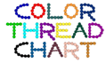 Color Thread Chart Made by TessS Embroidery